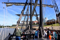 Tall Ships on the Mississippi River    October 4, 2014